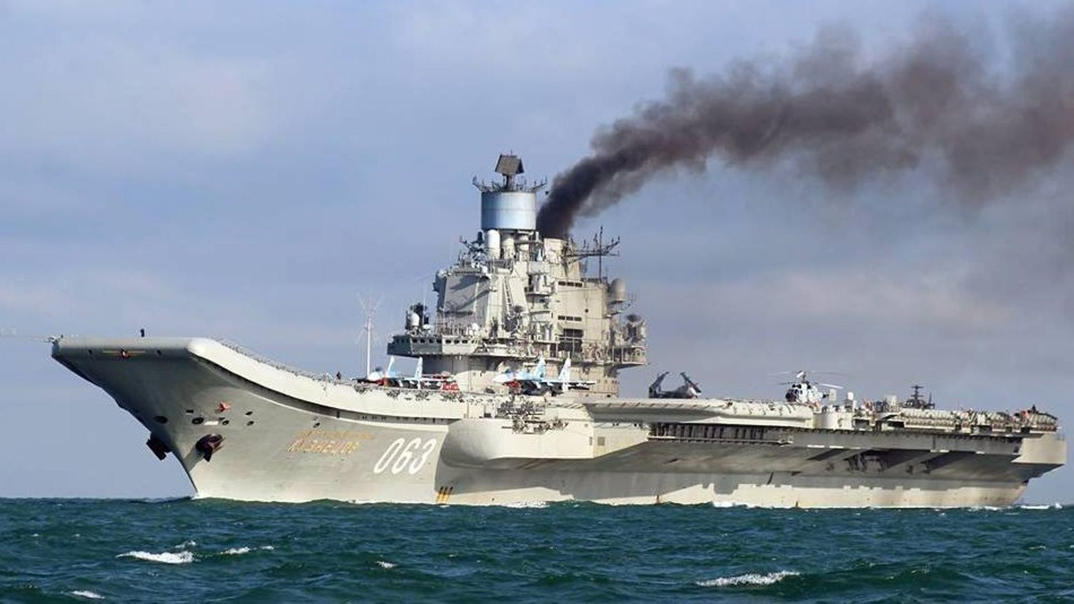 The Strange Reason Why Russia's Aircraft Carrier Leaves Smoke Trails
