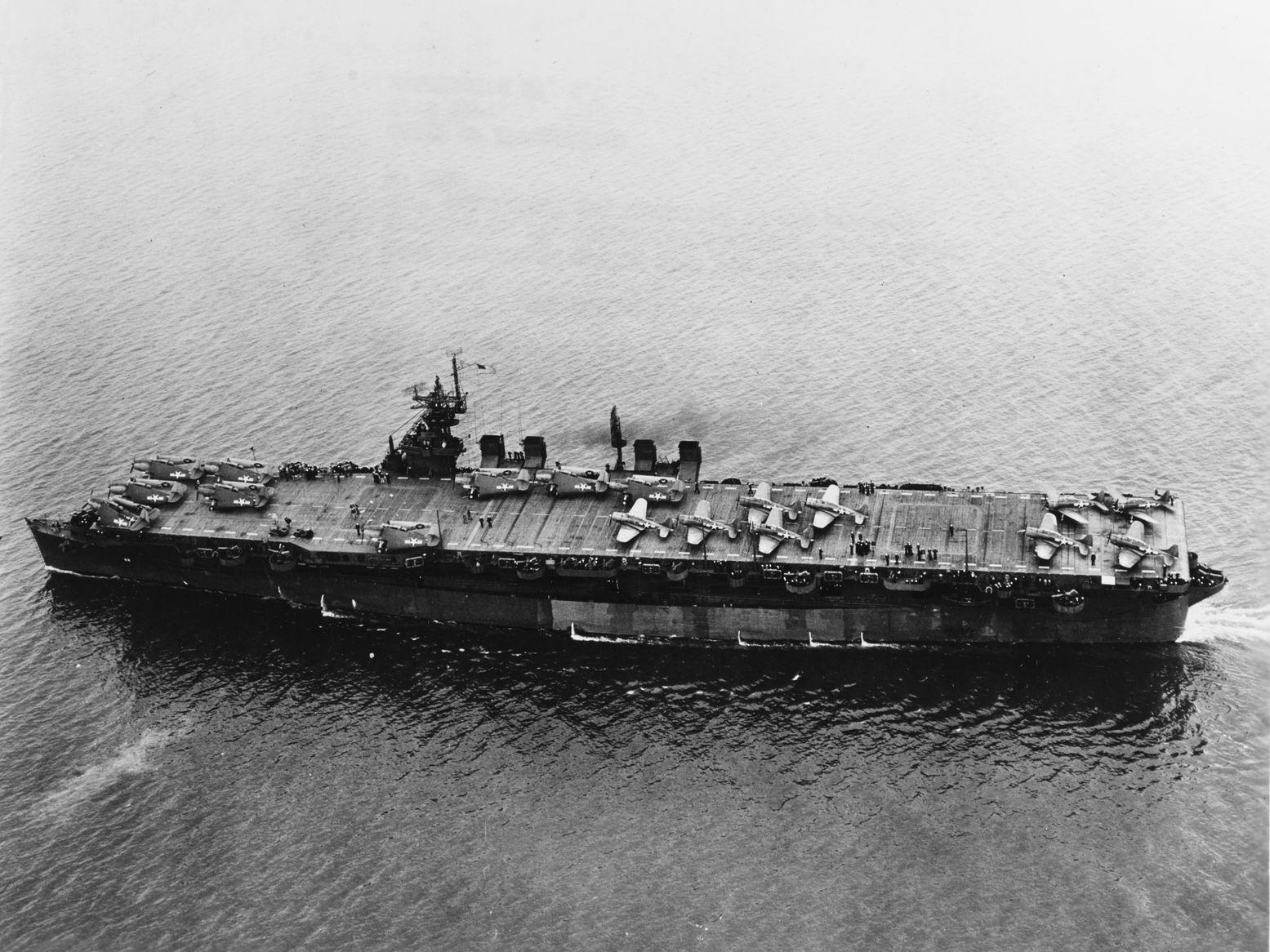 How the U.S. Navy Transformed a Battleship into an Aircraft Carrier