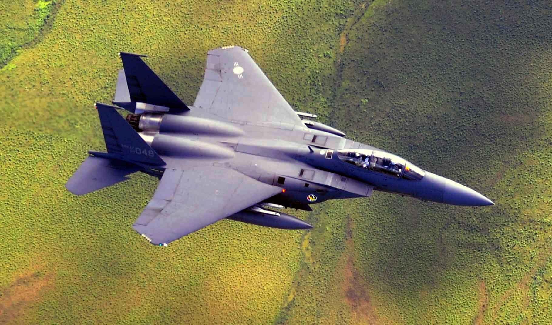 South korea F-15k slam eagle