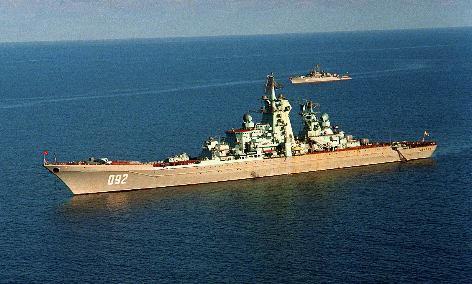 The Russian Navy Is Dismantling Two Massive Nuclear Battlecruisers. Here's Why.