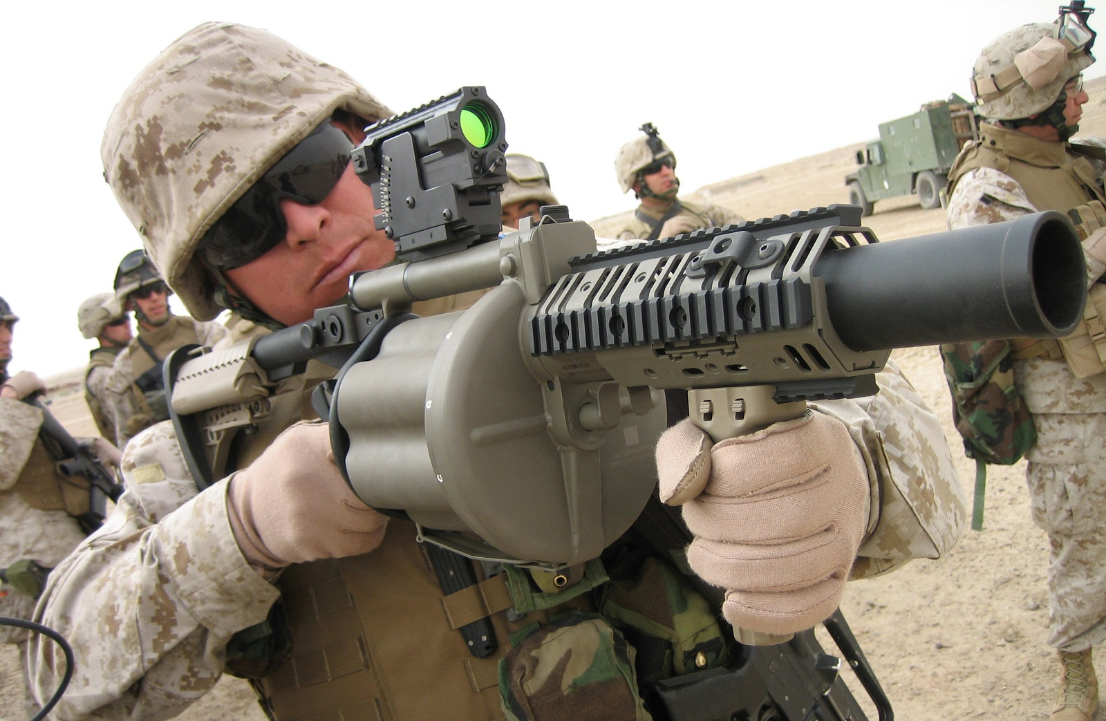 Bringing the Bang: The Navy's SEALs Grenade Launcher Is a Battlefield Terror