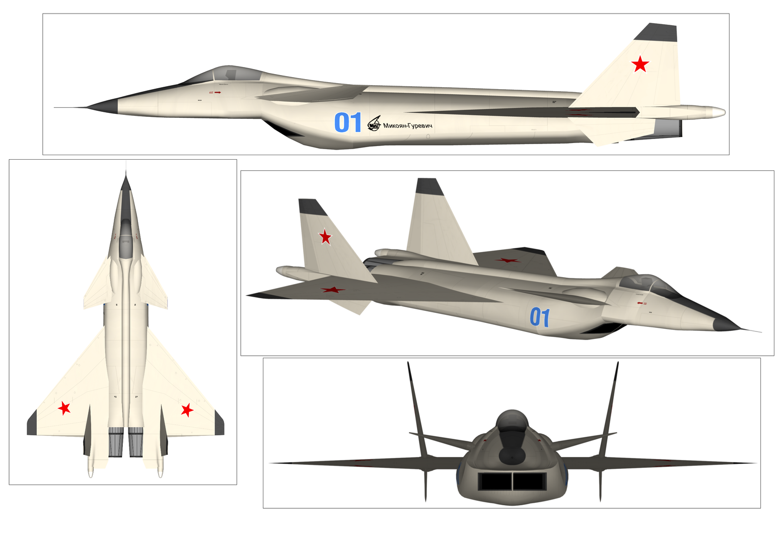 One Big Fail: Why Russia's MiG 1.44 Is No F-35 Stealth Fighter