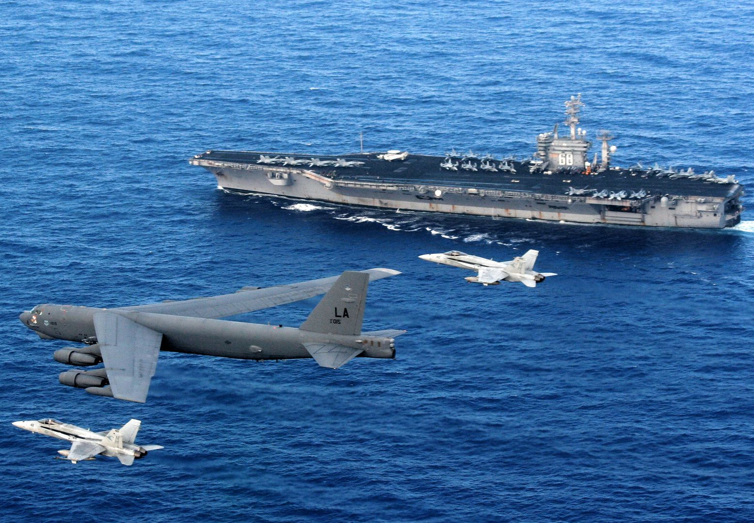 President Trump Can't Attack Venezuela with Navy Aircraft Carriers