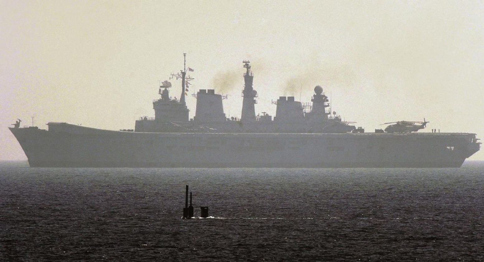 This Picture Means an Aircraft Carrier Just Went to the 'Bottom' (In