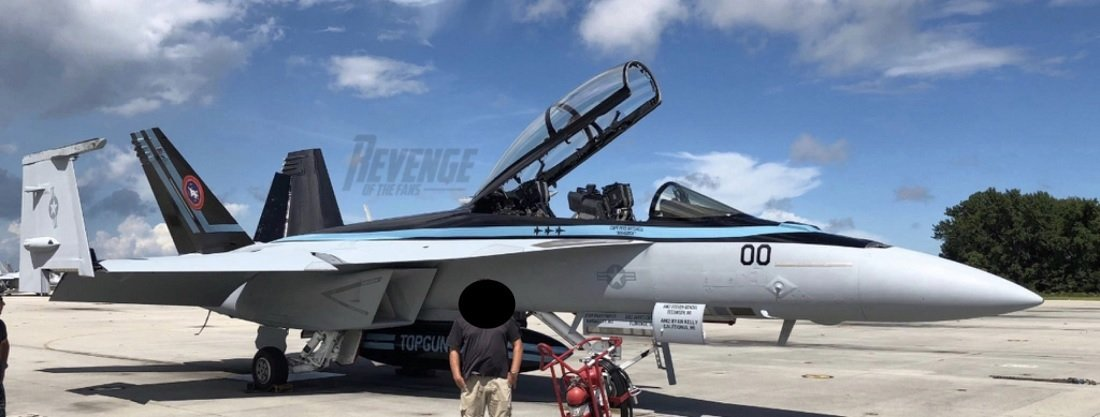Is This the F/A-18F Super Hornet that Maverick Will Fly in the Top