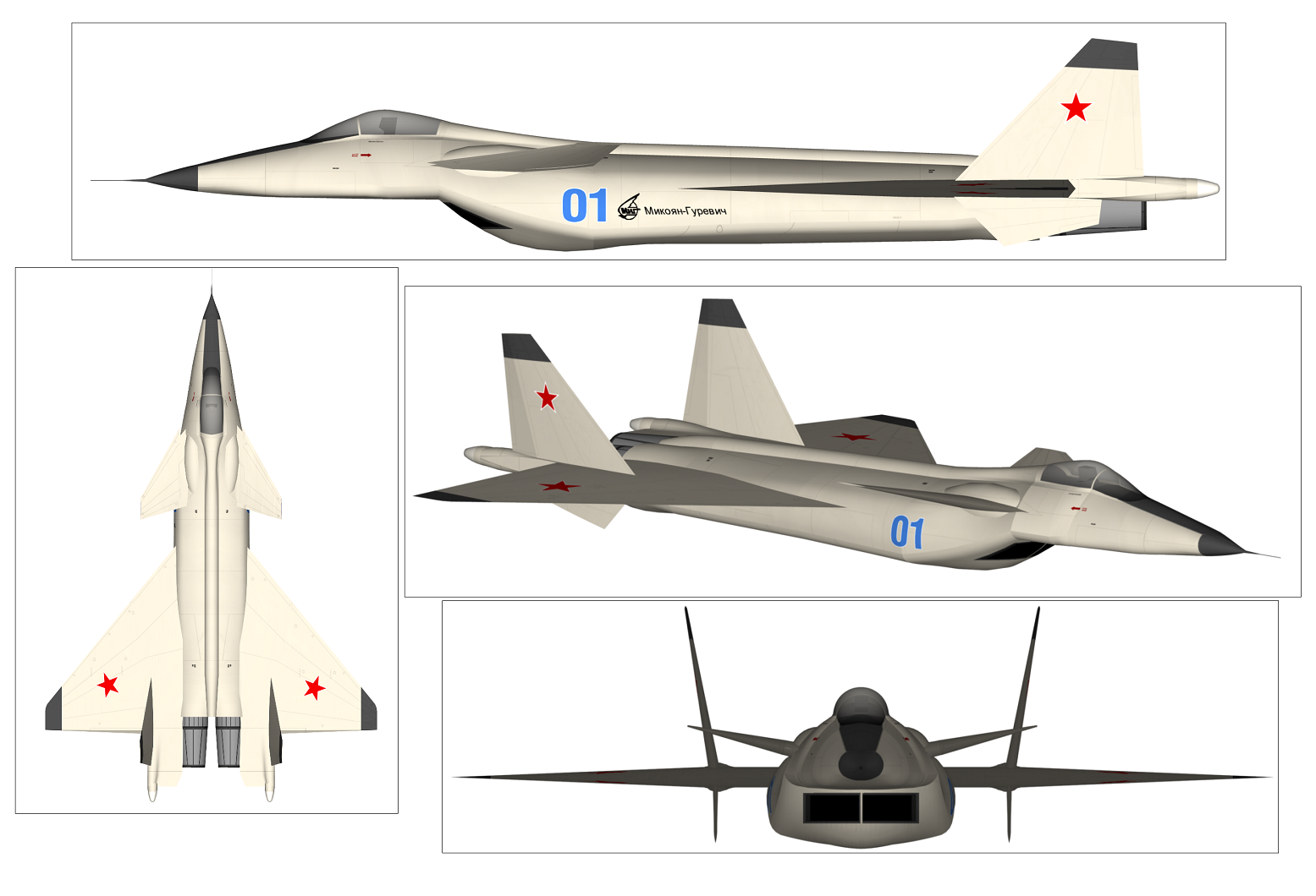 Russia's 1st 5th Generation Stealth Fighter: Meet the Secret MiG 1.44