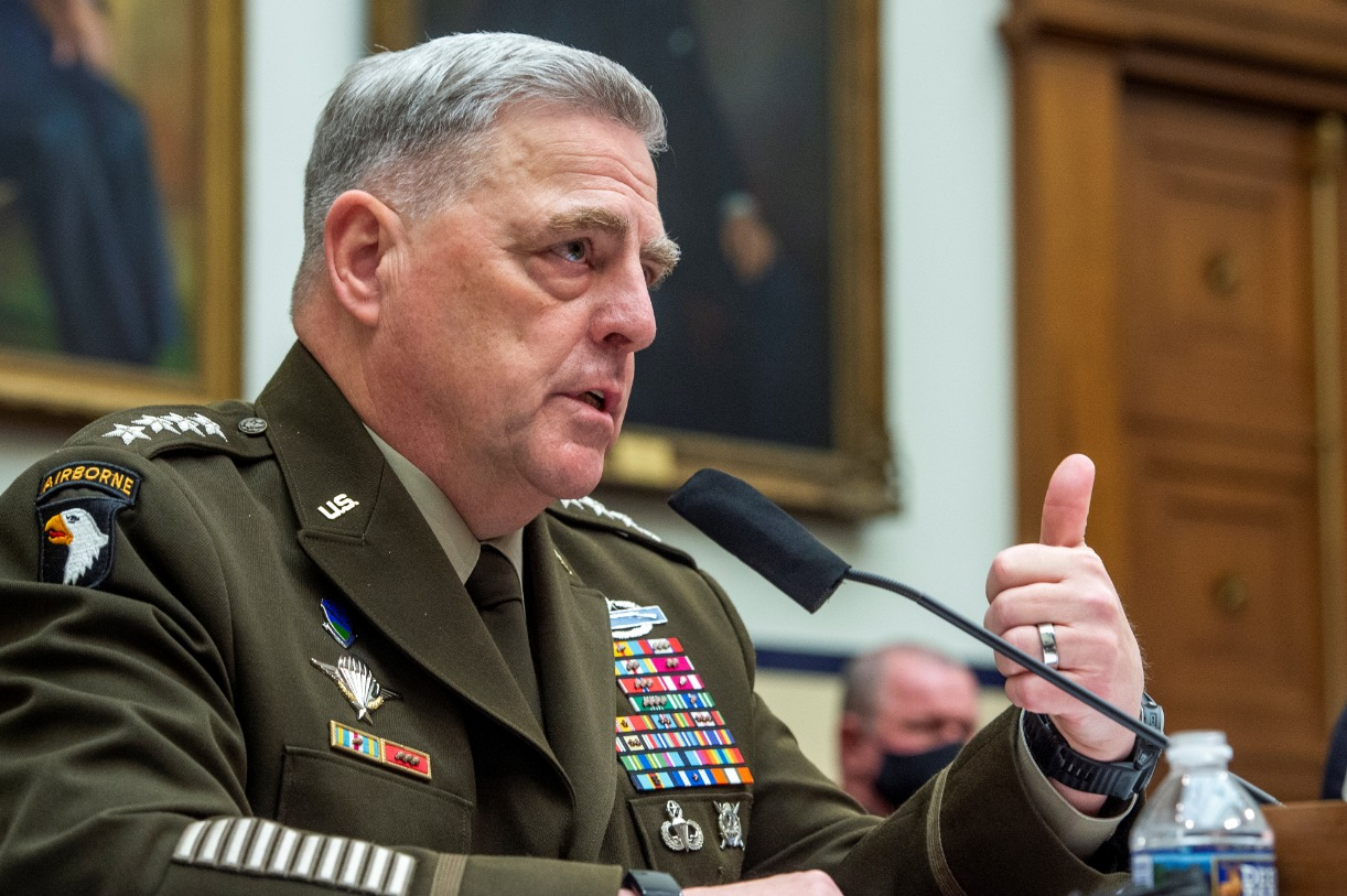 Has the United States Lost Confidence in General Milley?