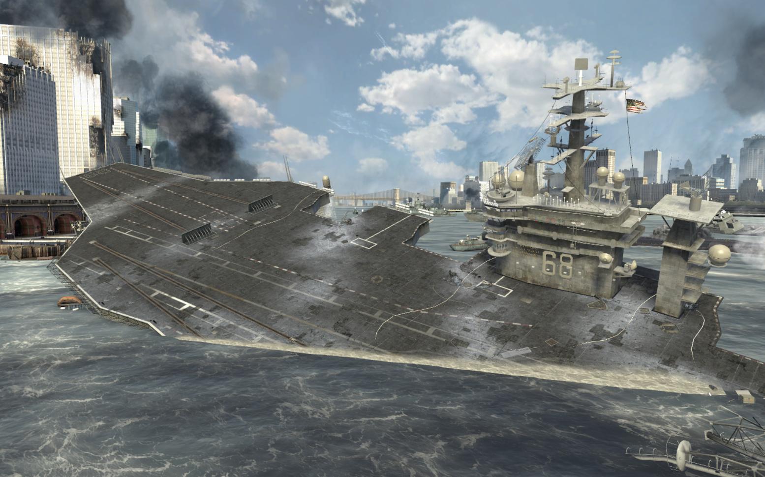 Could a Battleship Sink an Aircraft Carrier in Battle?