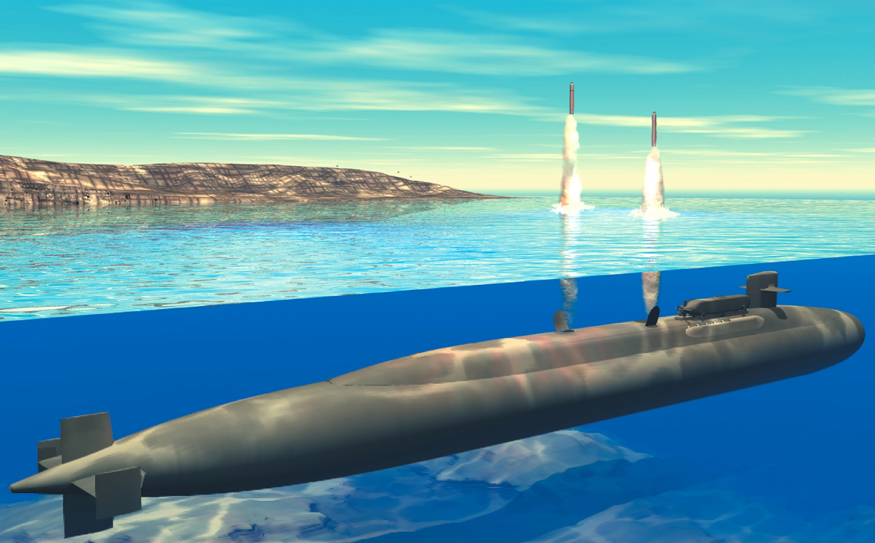 Mic Drop, Nuclear Submarine Style: The U.S. Navy Surfaced Three of These Subs To Warn China