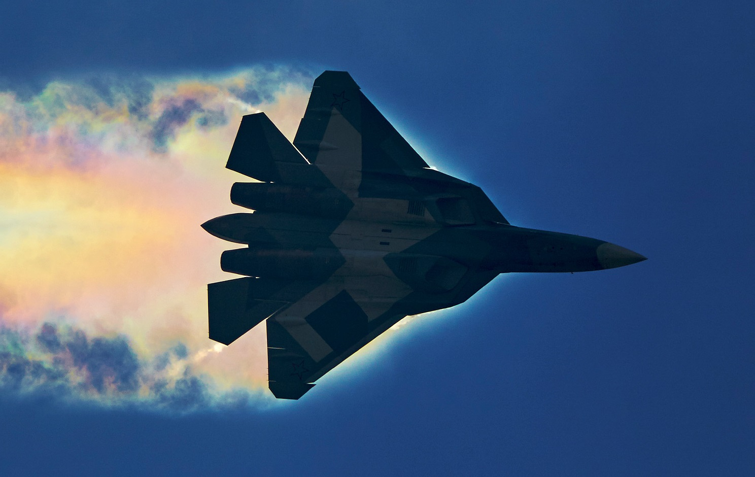 "Russia Declares the Su-57 Fighter ""The Best in the World"""