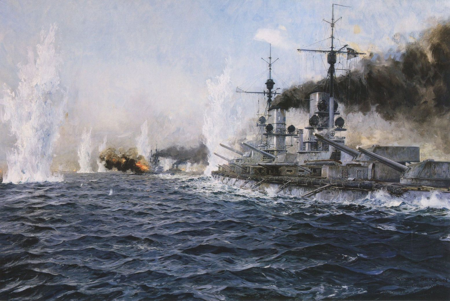 These Are the Deadliest Naval Clashes That Battleships Ever Fought In