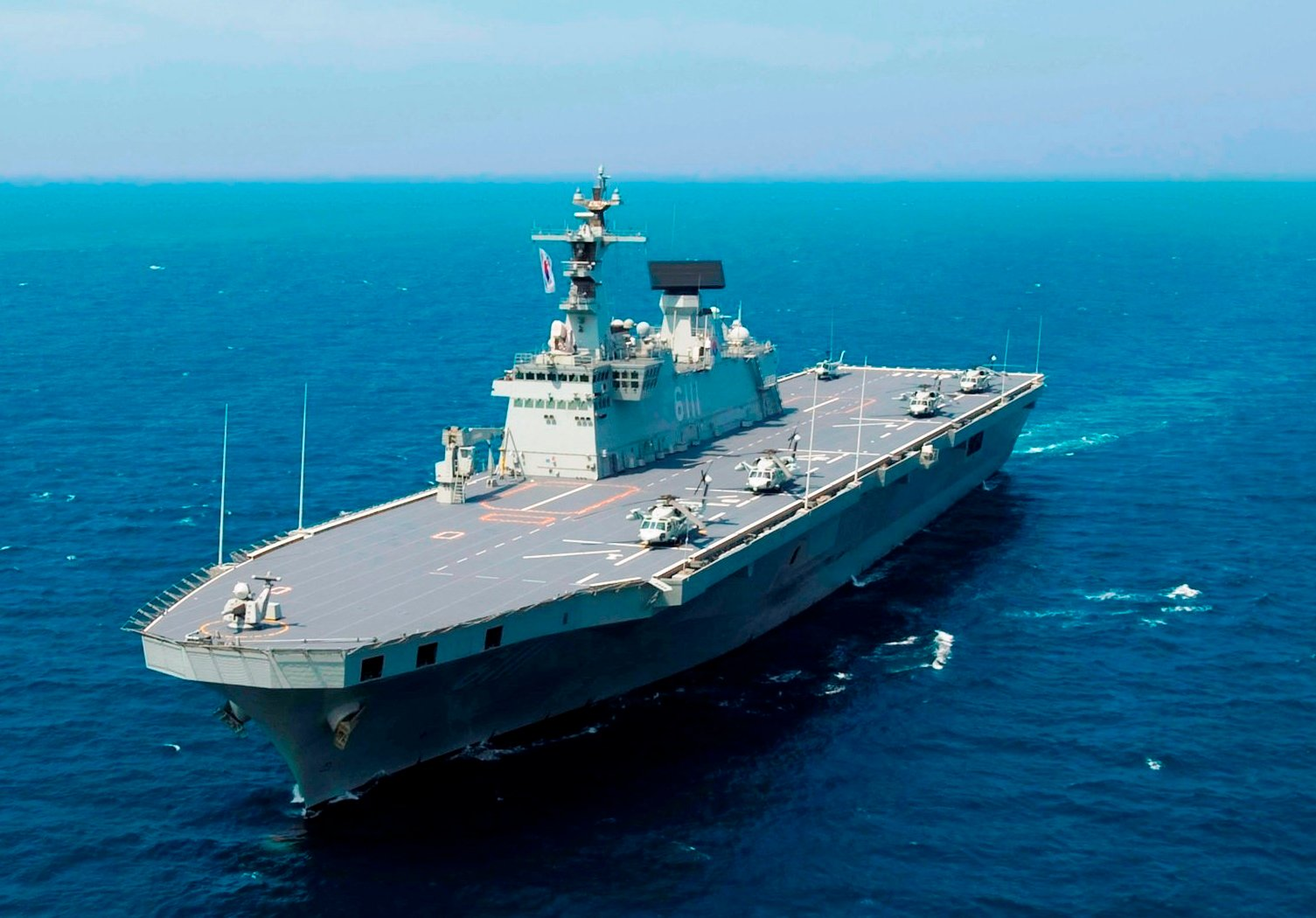 South Korea is Getting 'Light' Aircraft Carriers | The National ...