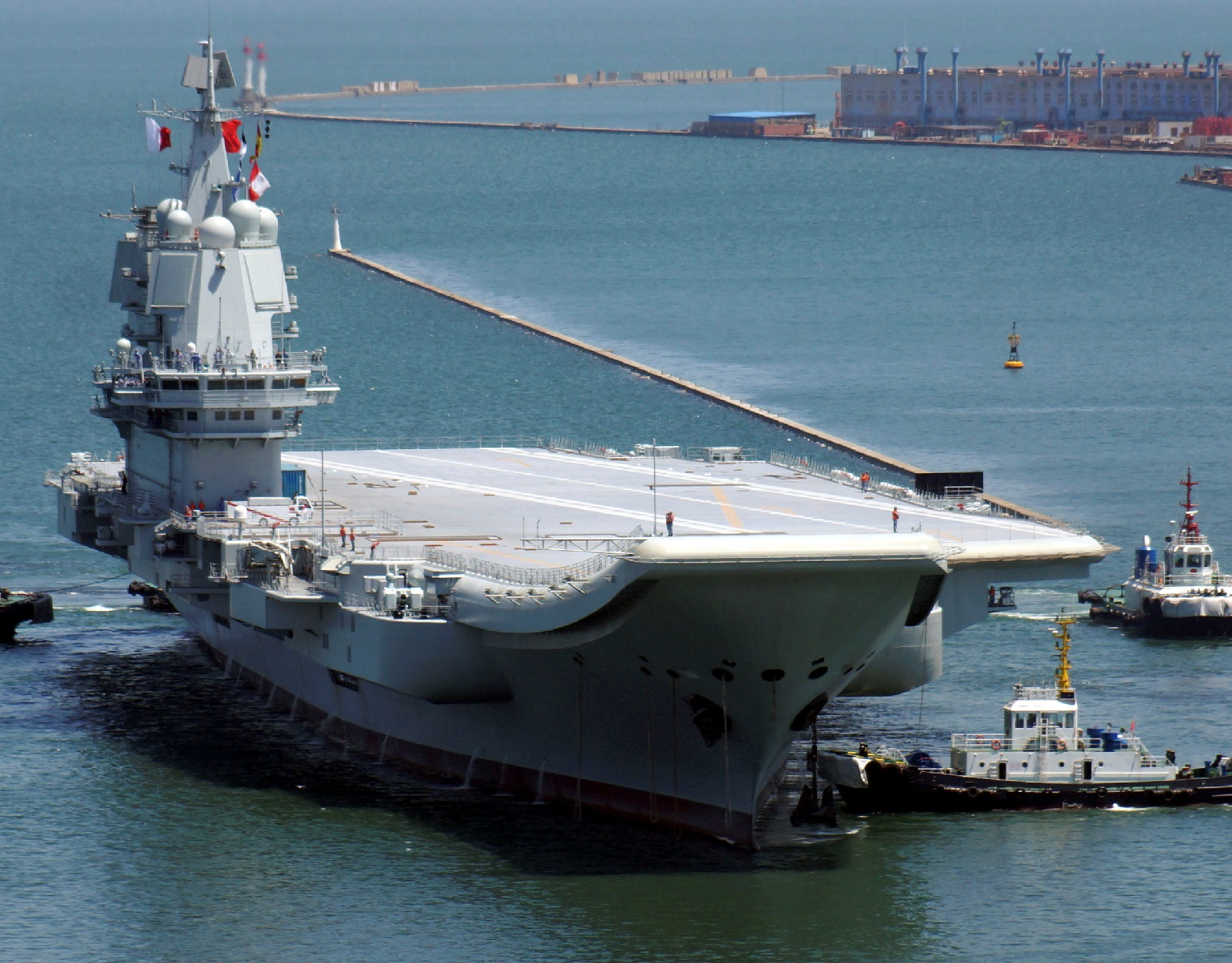 "Everything We Know: China's First ""Domestic"" Type 002 Aircraft Carrier"