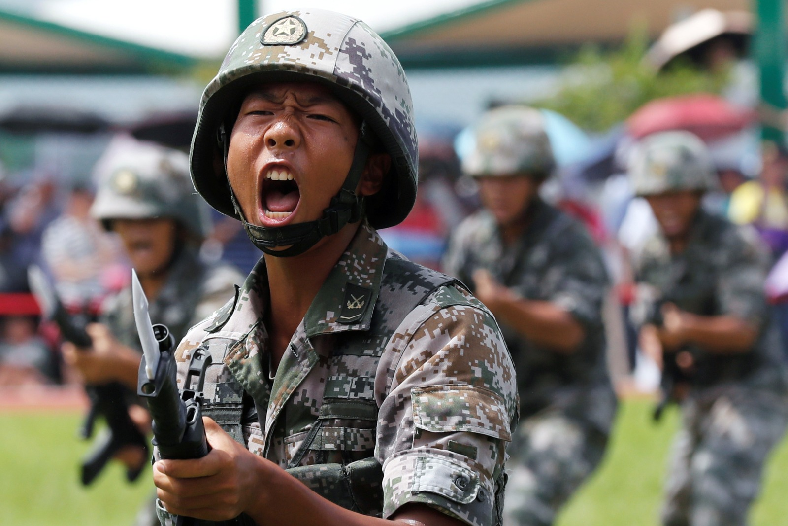 This Video Shows How China Would Invade and Crush Hong Kong