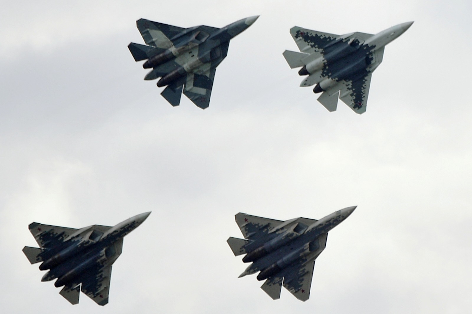 Russia Has A Really Old Way of Making the Su-57 More Stealth