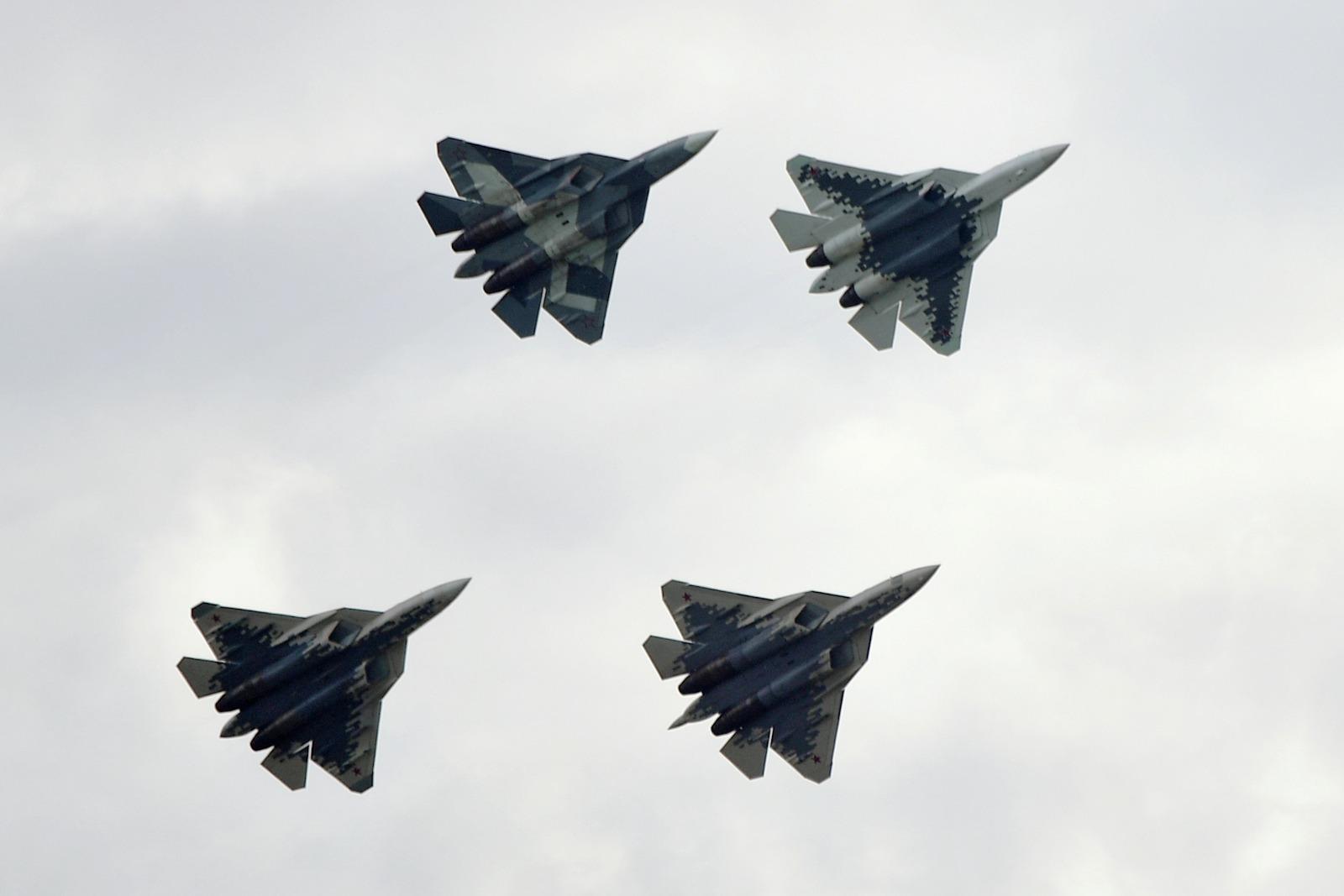 Half of Russia's Su-57 Stealth Fighter Fleet Went Airborne—What
