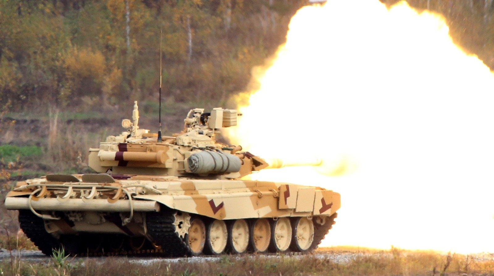 Russia's T-90 Tanks Can Smash Any Army (And Then It Went to Syria)