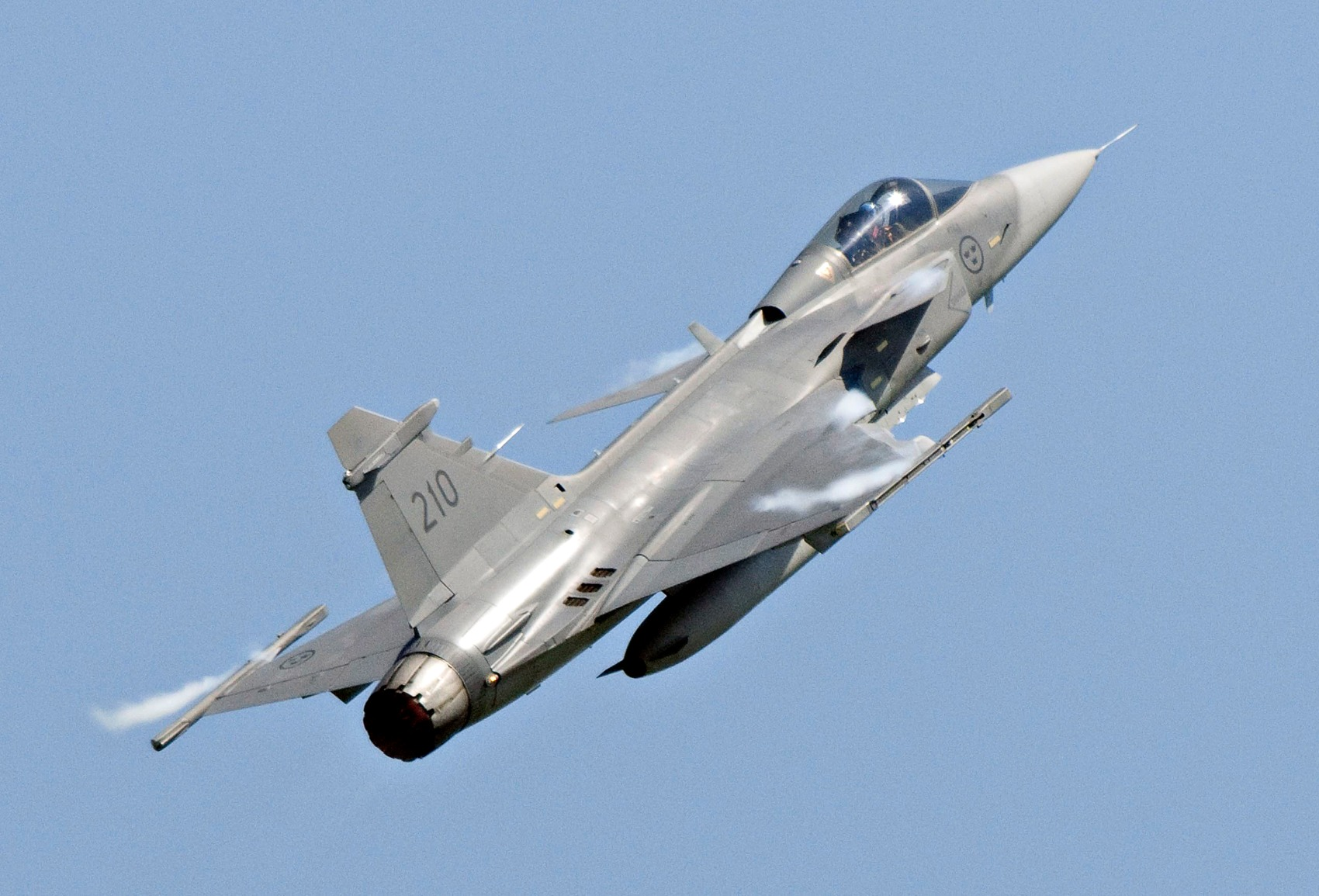 Sweden's JAS 39 Gripen Fighter: Can't Afford an F-35? Buy This