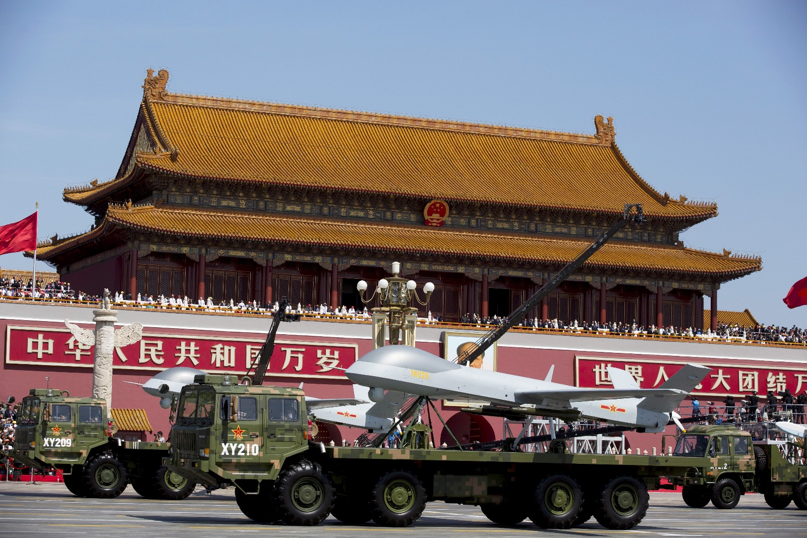 Chinese Drones Are Going to War All Over the Middle East and Africa