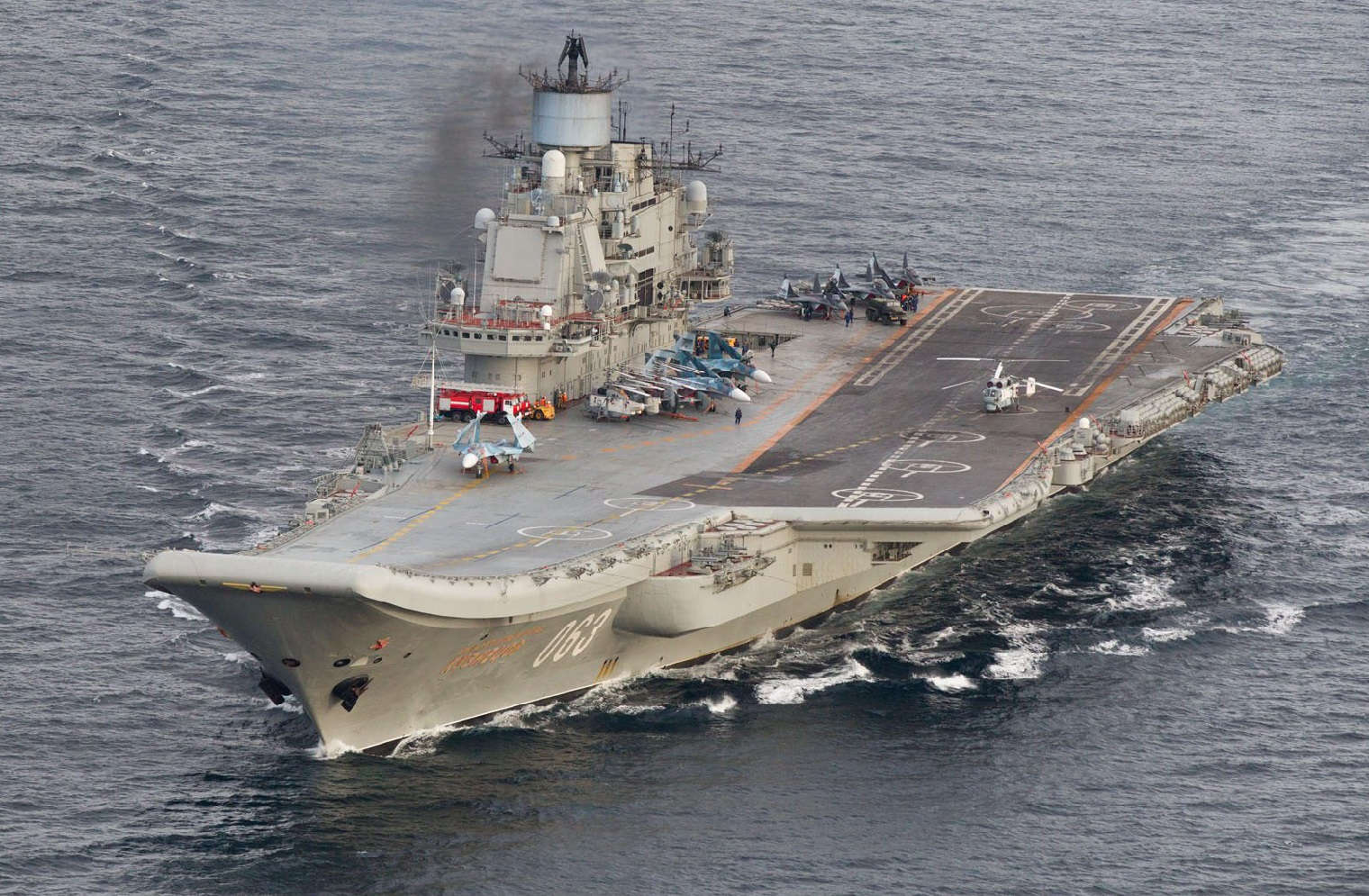 Russia's Only Aircraft Carrier Is Going to Get a Massive Refit