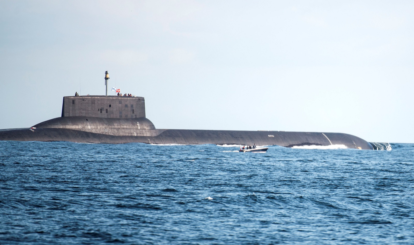 Russia Might Take the Biggest Submarine Ever and Add 200 Cruise Missiles