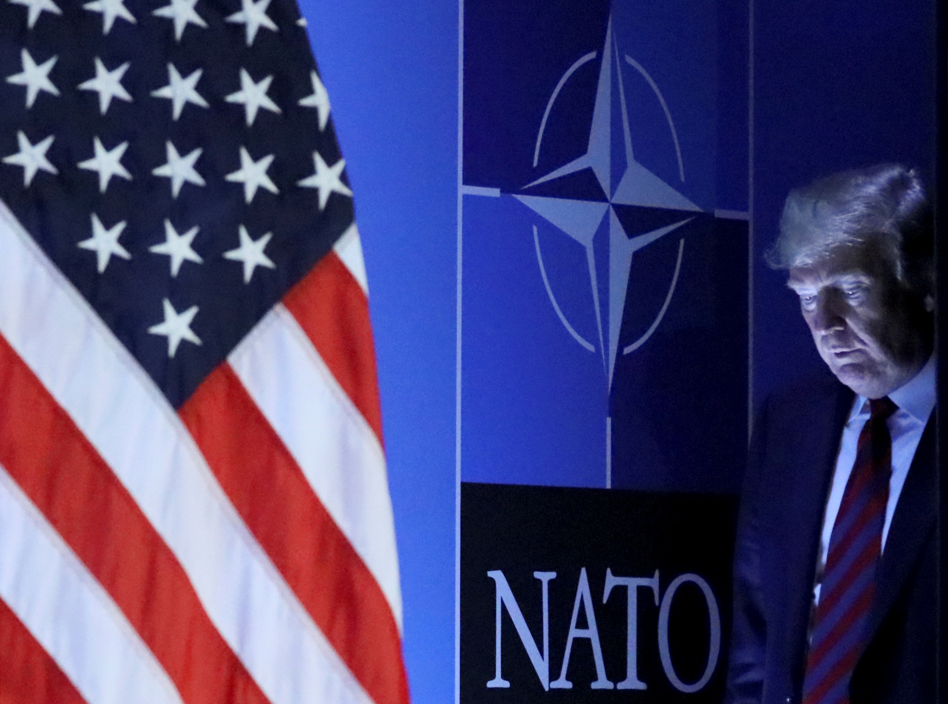 Trump Should Have Already Left NATO