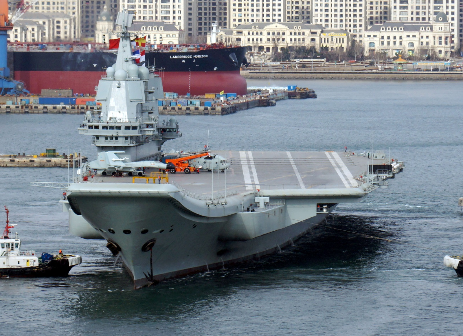 The Chinese Navy's First Three Aircraft Carriers Will Stay Close to Home (For Now)