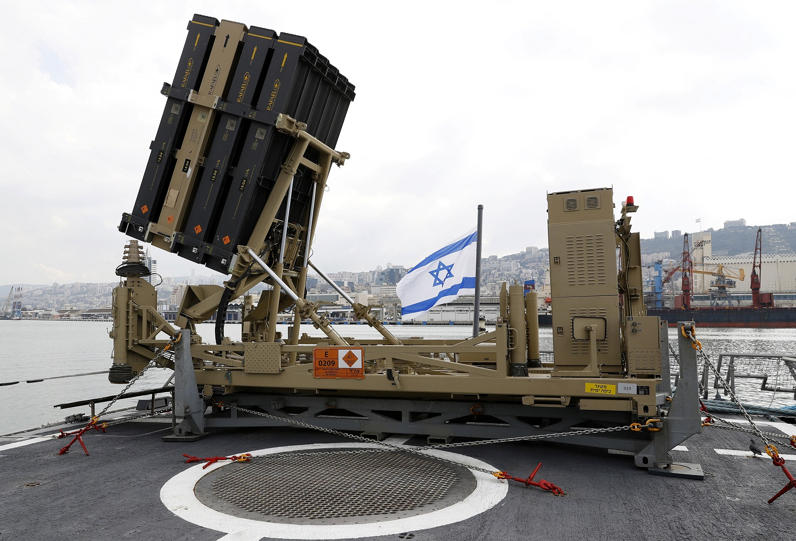 Israel's Iron Dome Headache (As In China Might Have Stolen the Specs On It)