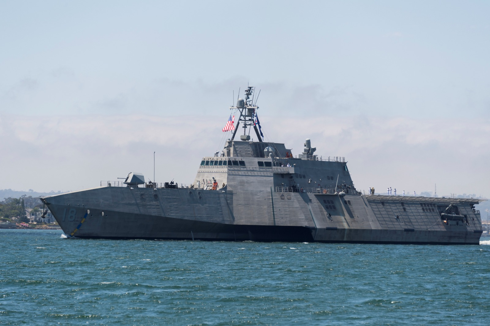 America's Littoral Combat Ship Could Be The End Of Russian and Chinese Submarines