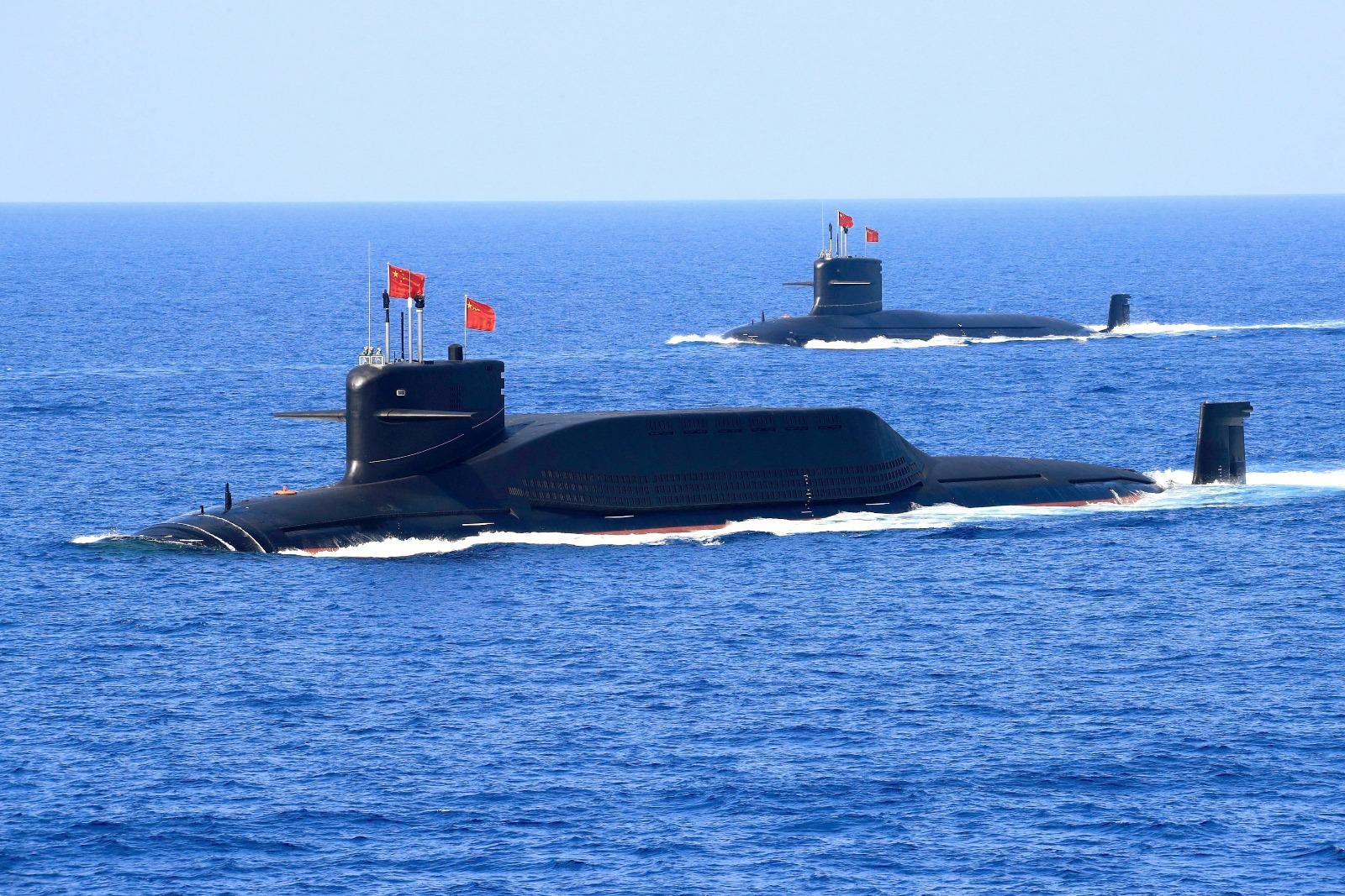 China U0026 39 S First Nuclear Submarines Were Underwater  U0026 39 Train