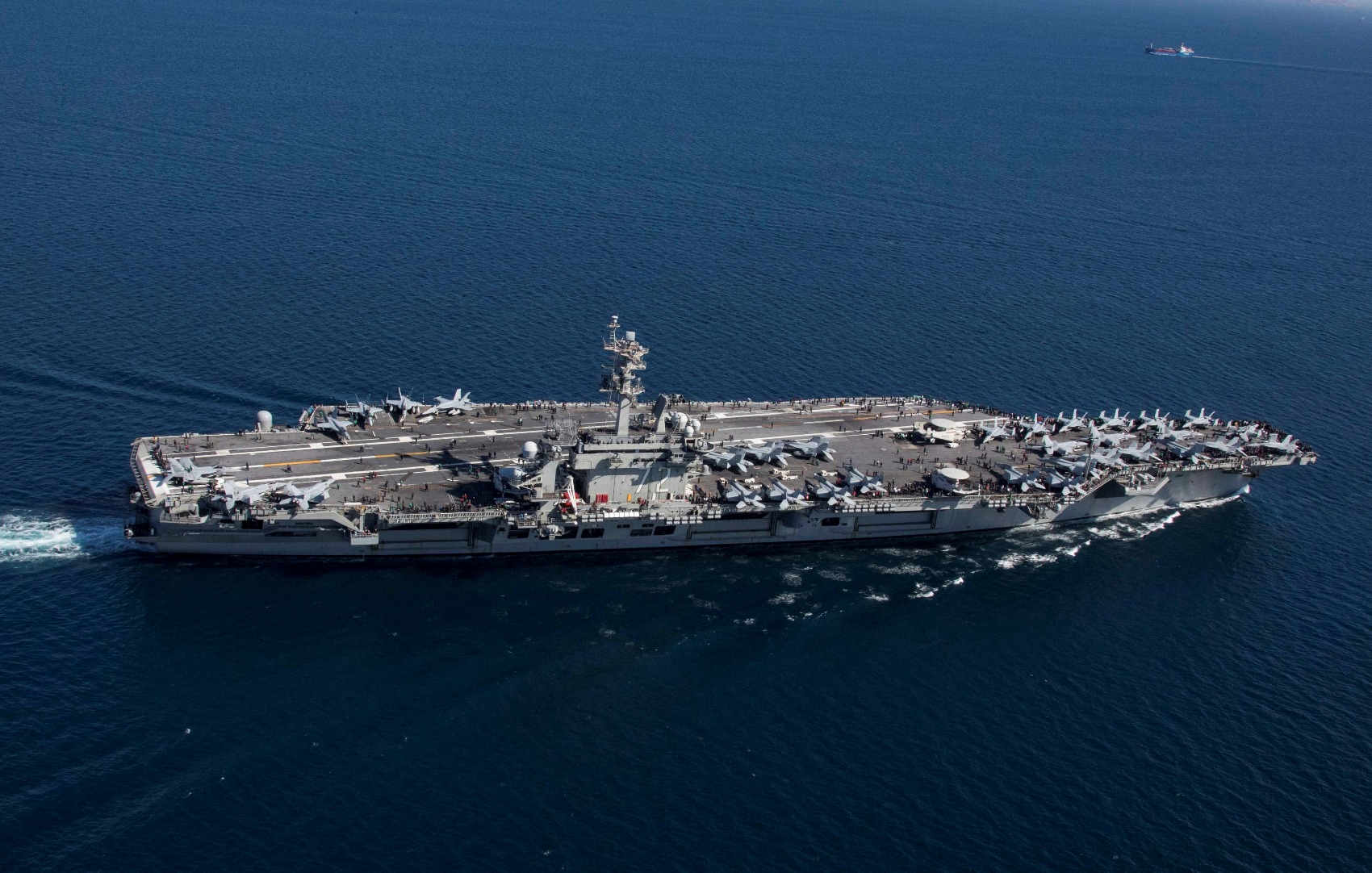 Why Nothing Can Beat a U.S. Navy Nimitz-Class Aircraft Carrier