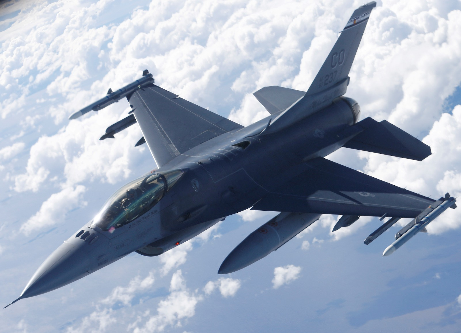 An F-16 Pilot Told US What It Feels Like to Get Shot Out of the Sky