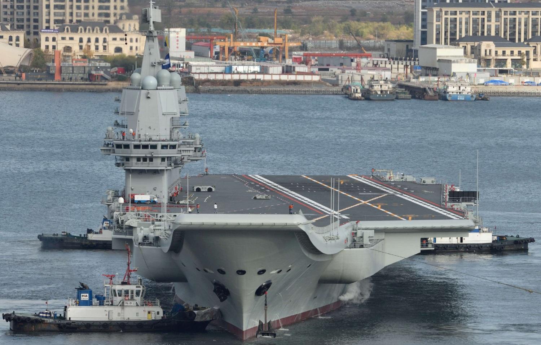 Chinese aircraft carrier Shandong