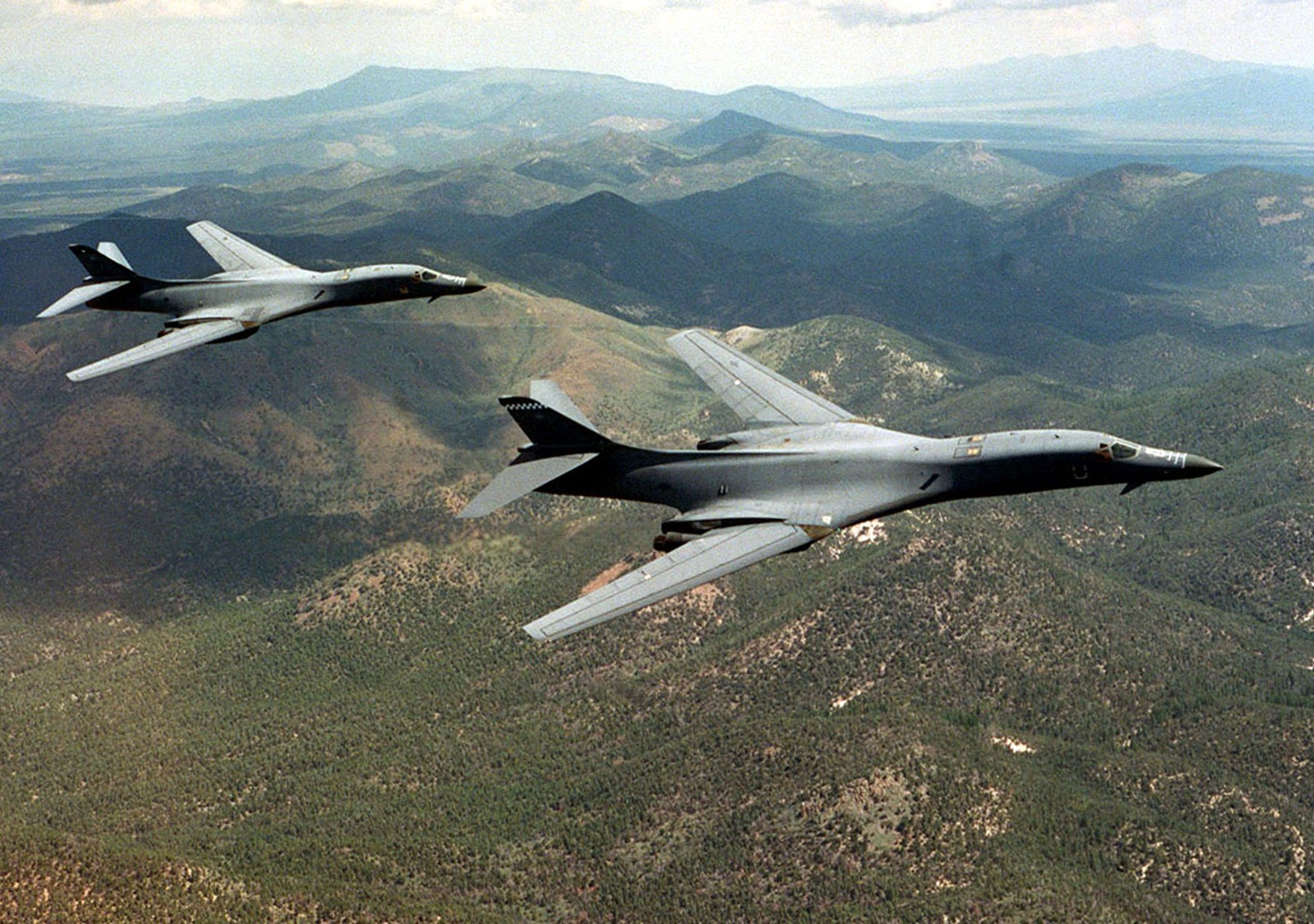 The B-1 Bomber Is Simply a Flying Missile Truck