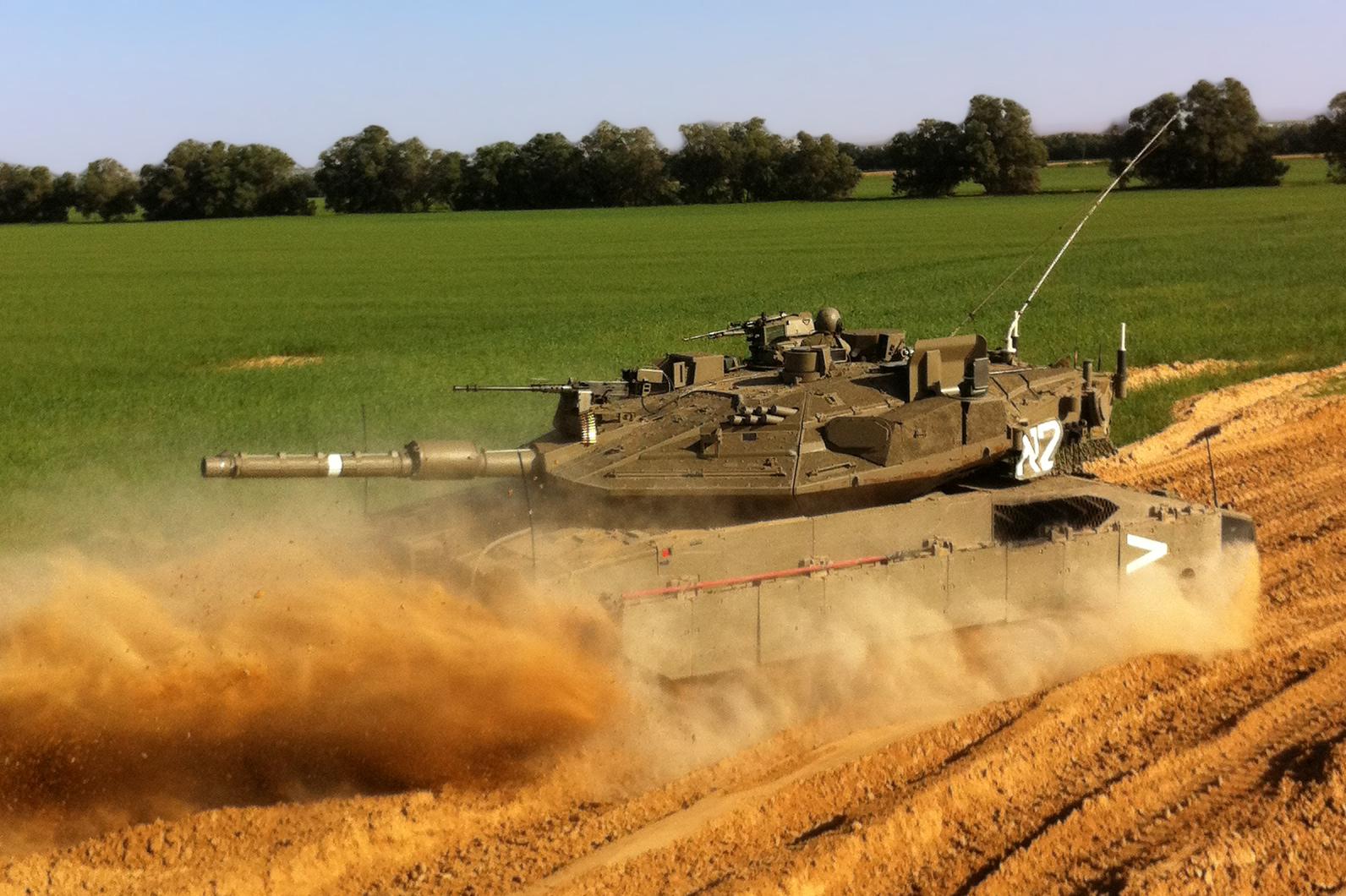 I Waged a Massive Israel vs. Syria Tank War Simulation