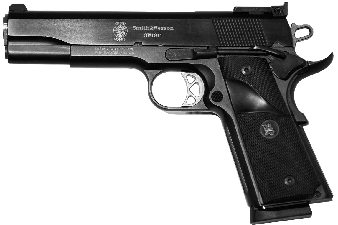 Take a Look at the SW1911 Gun: Smith & Wesson's Very Own 1911 Pistol