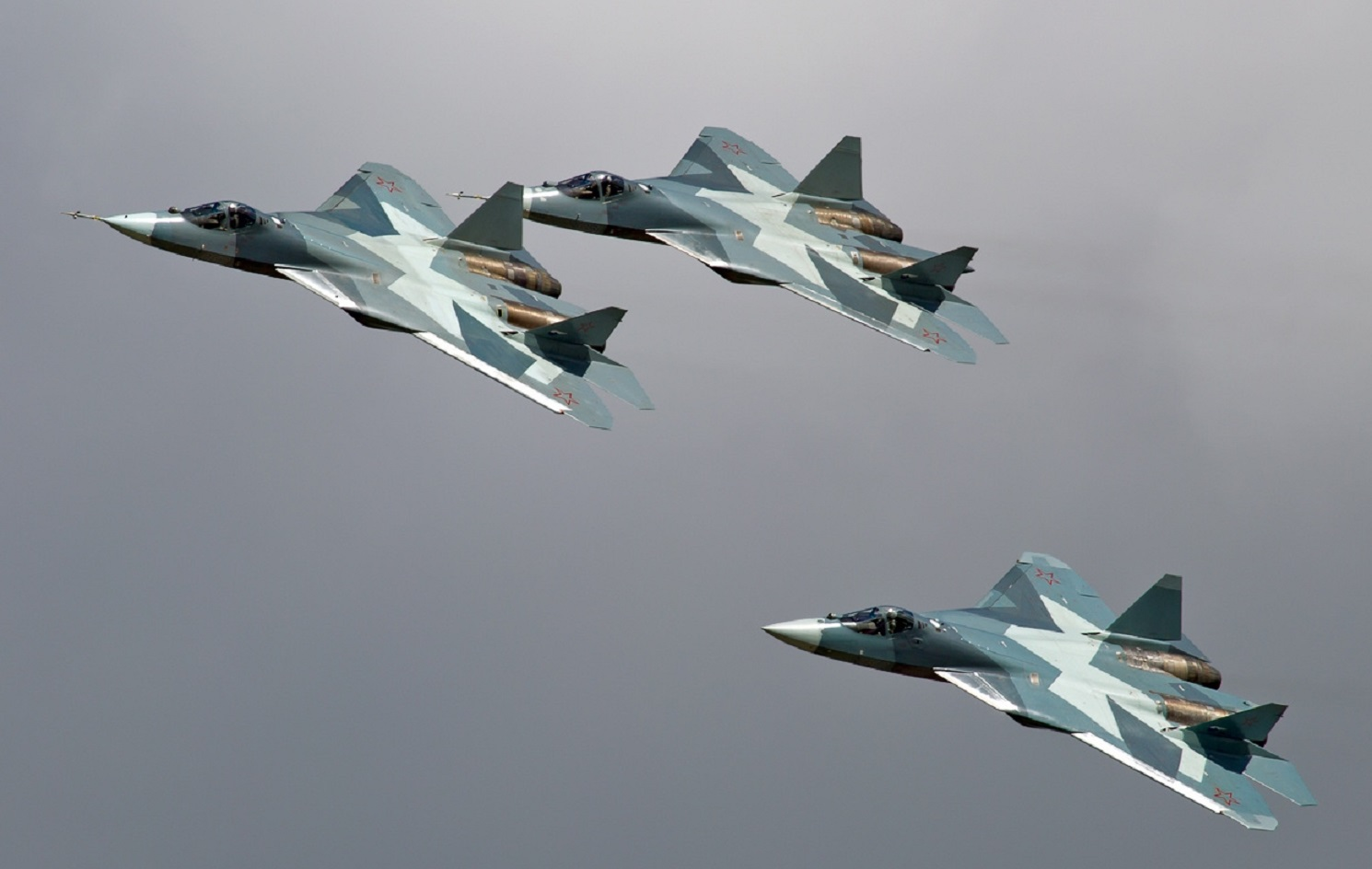Just Say Nyet: Russia Wants to Become a Stealth Fighter Superpower