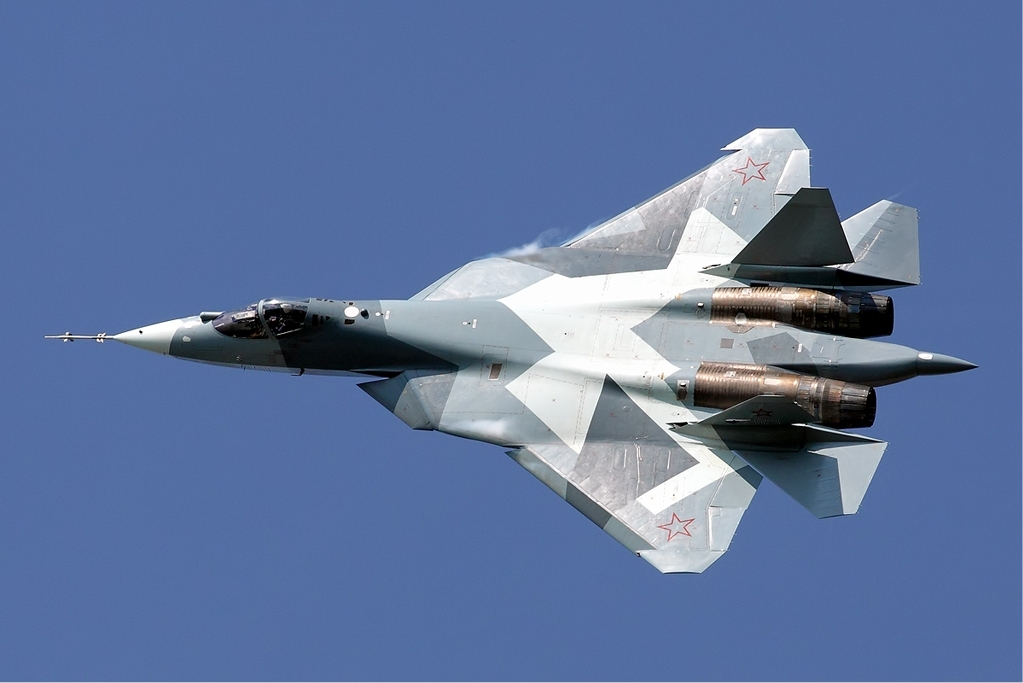 Here's Why Half Of Russia's Su-57 Stealth Fighters Suddenly Went Airborne