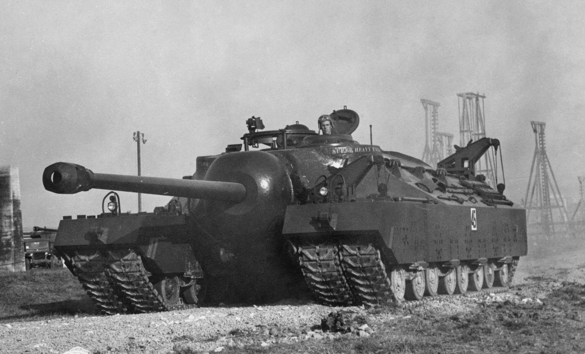 Why America Only Built Two 100 Ton T28 Heavy Tanks The National Interest