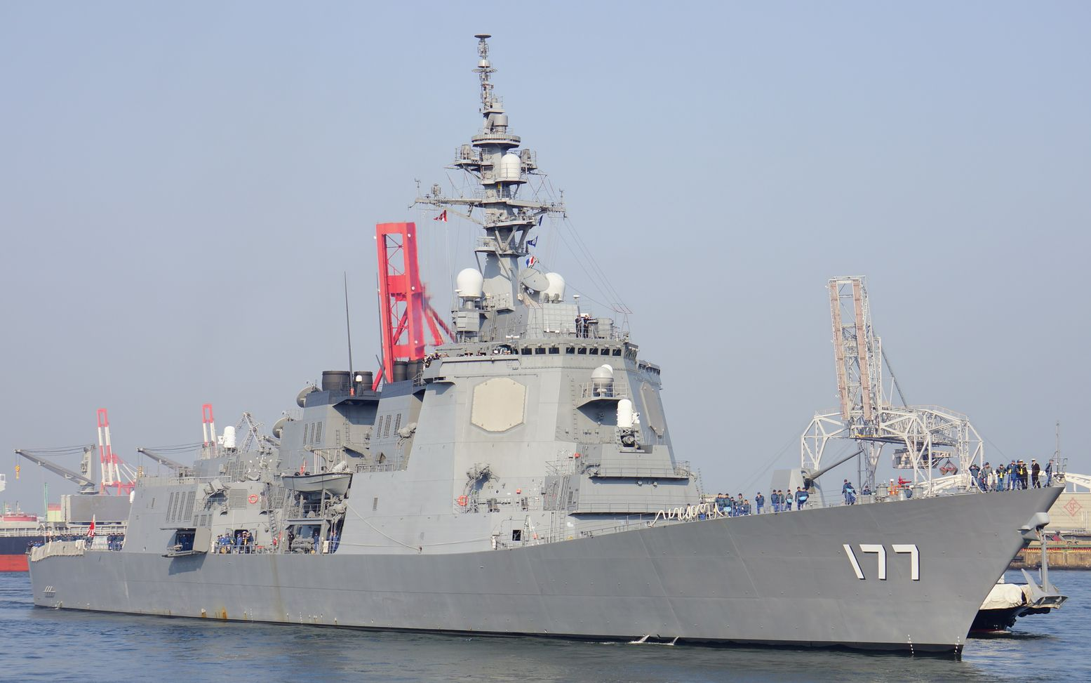 Face-off: What If Japan and China's Best Naval Warships Went to War?