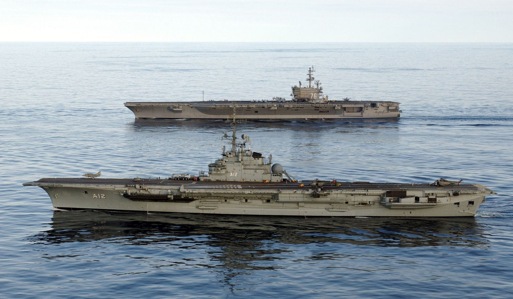 Floating Failures: 5 Aircraft Carriers That No One Should Ever Fear