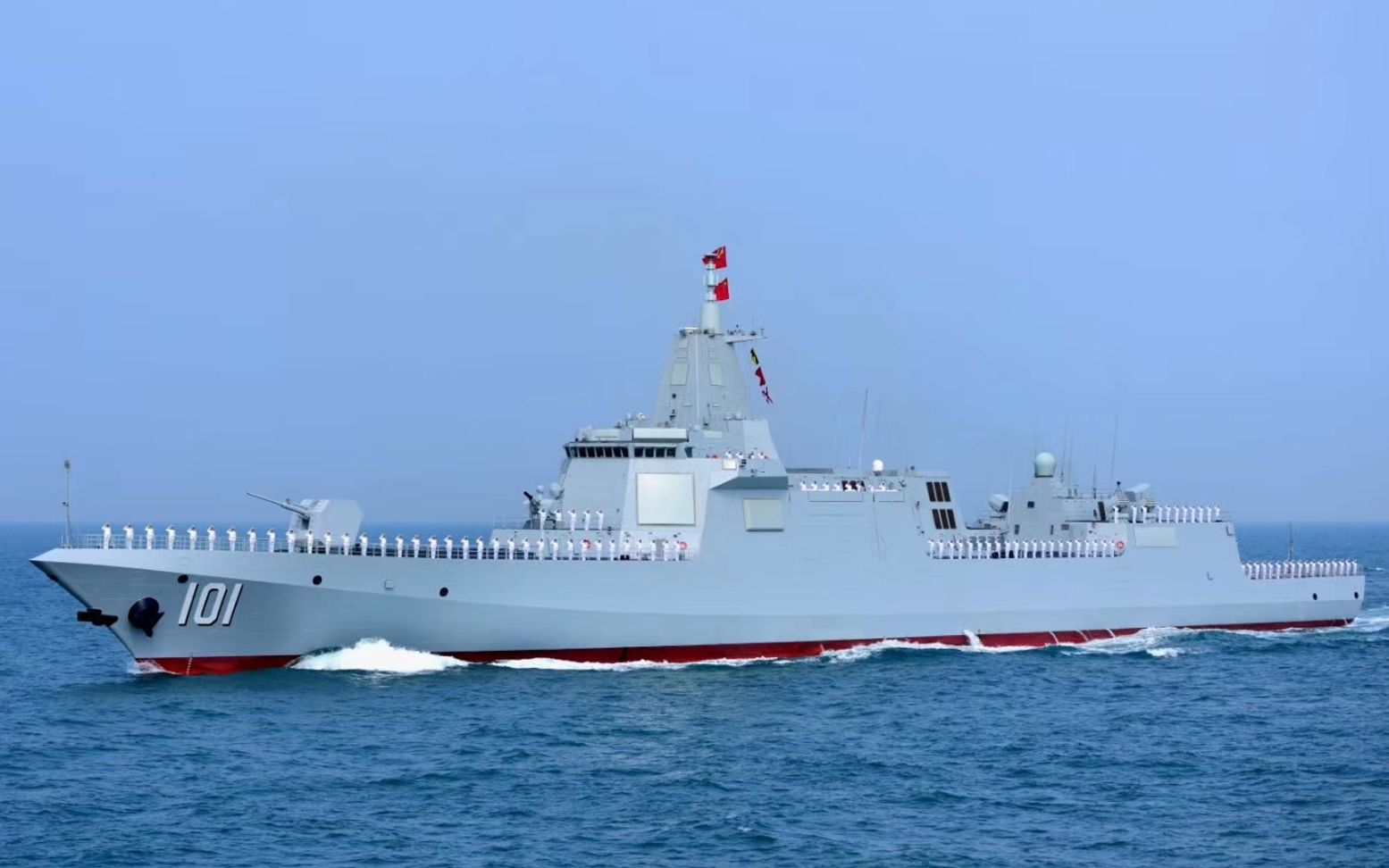 Can the U.S. Navy Beat China's New Type 055 Destroyer In a Fight?