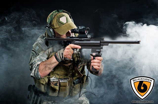 This Ultimate Doomsday Rifle Shoots 21 Different Of Ammo