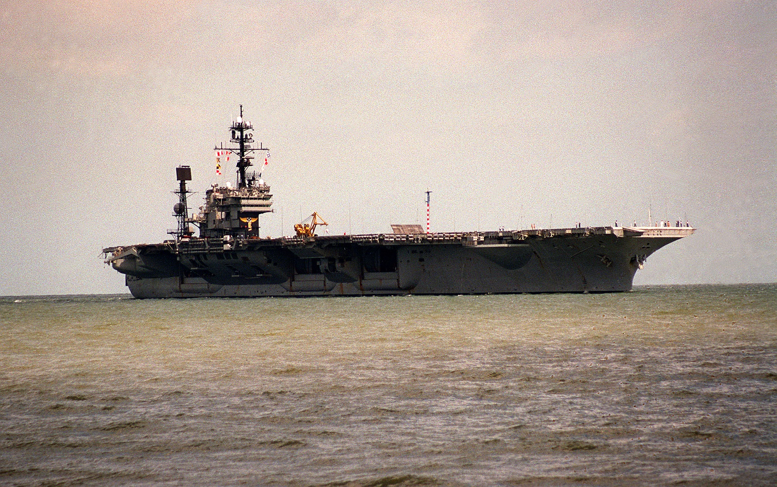 The U.S. Navy Tried To Kill Its Own Aircraft Carrier for Weeks (And Failed Miserably)