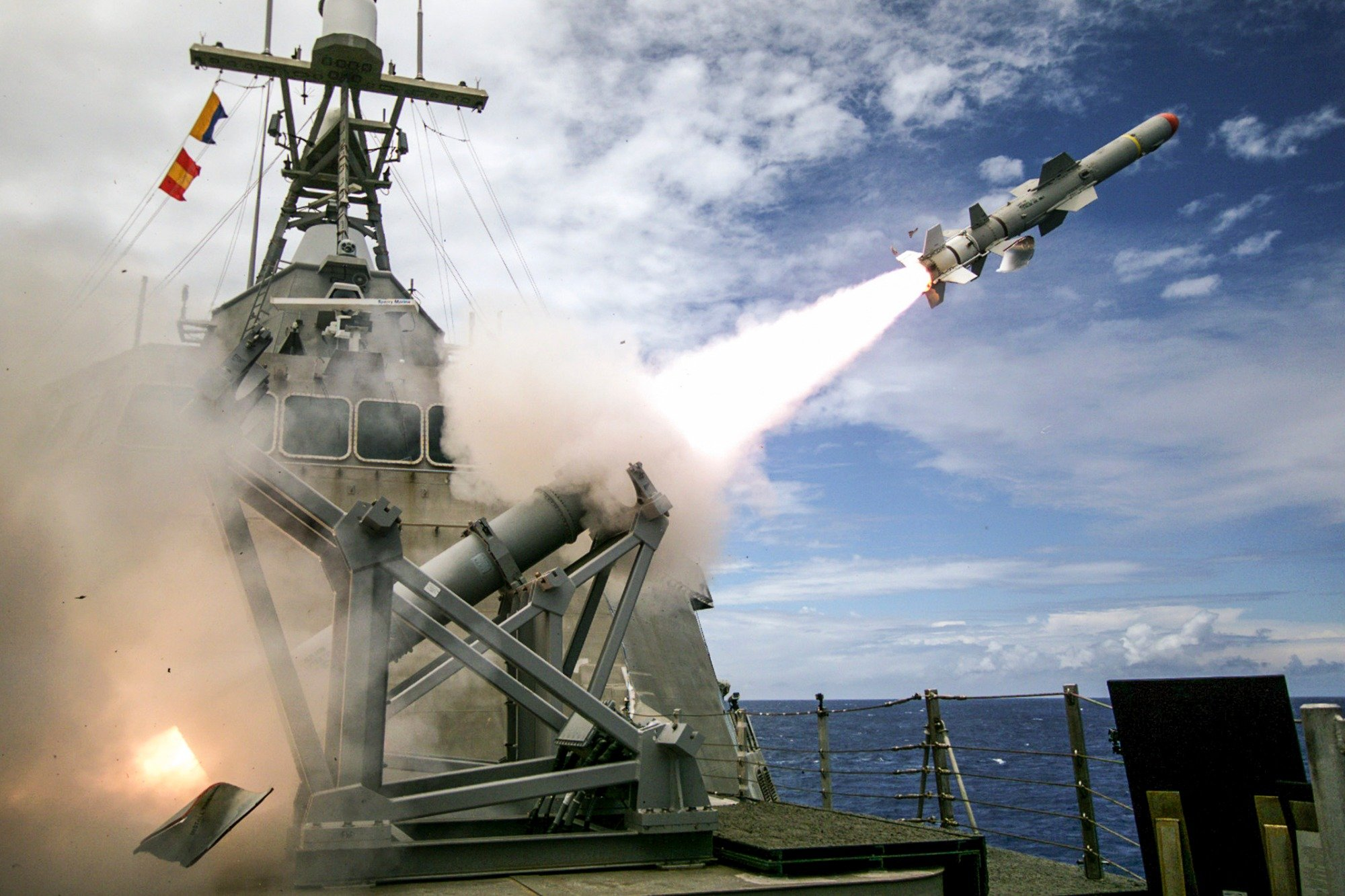Why The Navy Refuses To Abandon The Harpoon Anti-Ship Missile