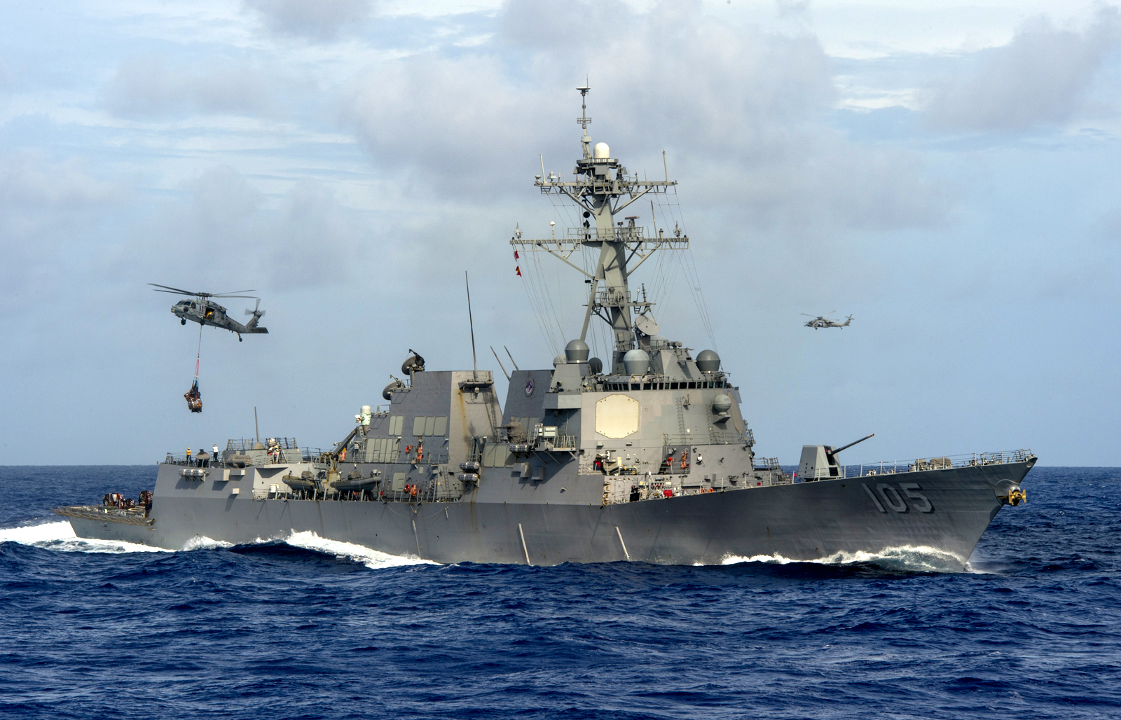 The Navy's Destroyers Are Finally Getting State-Of-The-Art Laser Weapons
