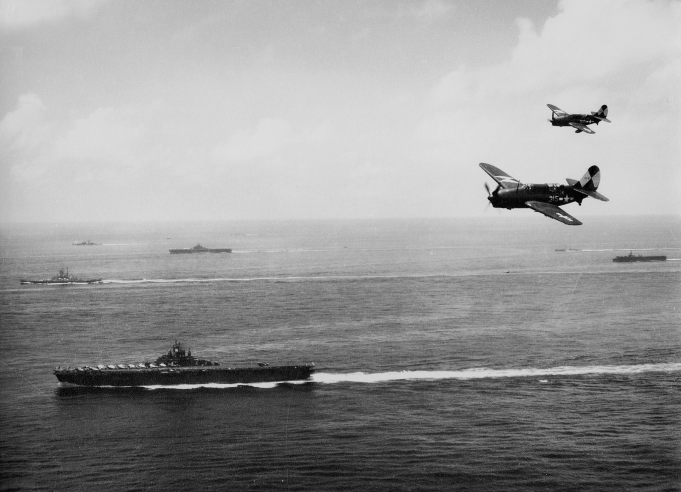 This Fleet Of American Aircraft Carriers Took on a Typhoon (Bad Idea)