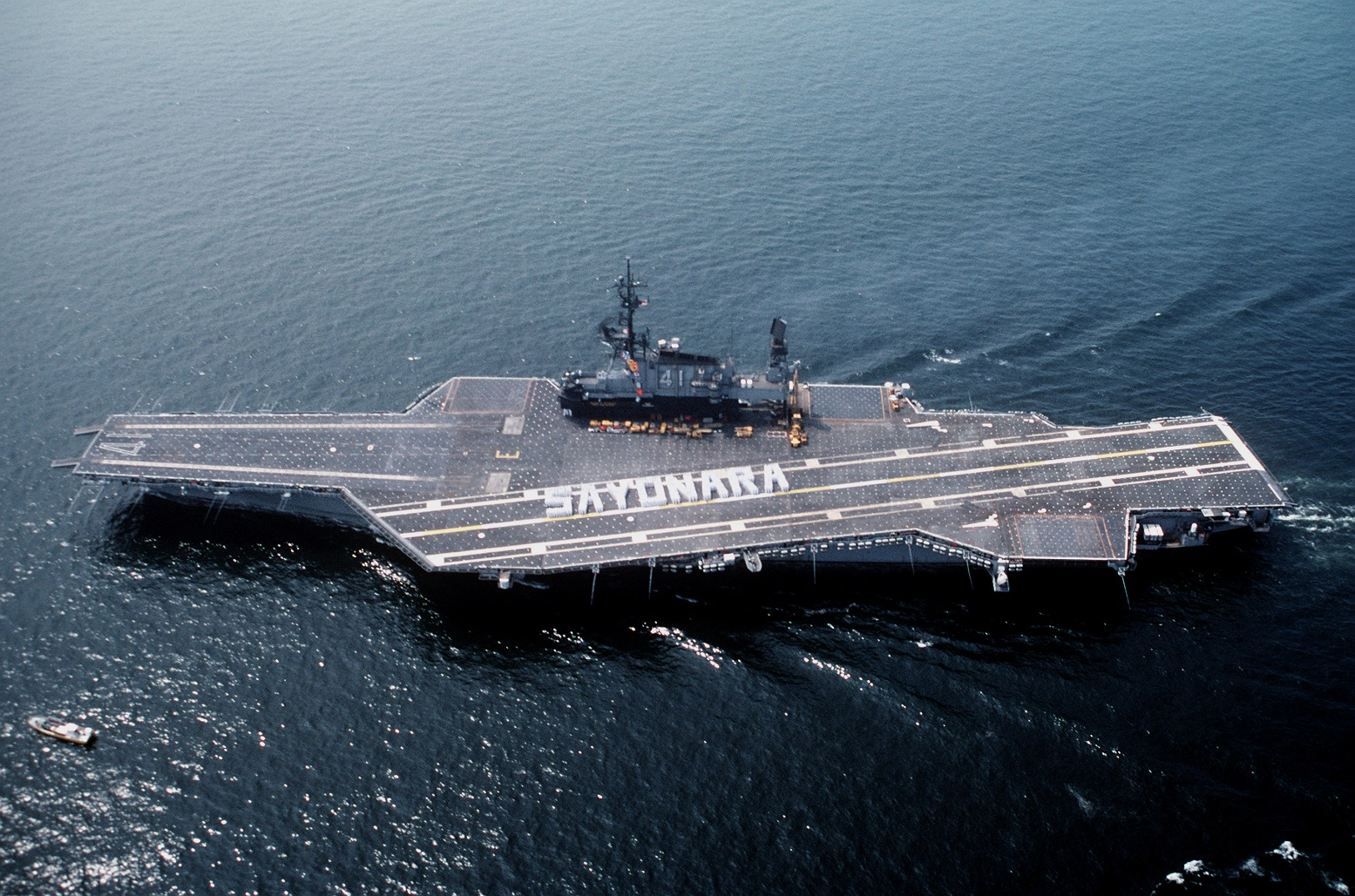 The Midway-Class Aircraft Carrier Is Worthy of Your Respect (The Navy Loved Them)