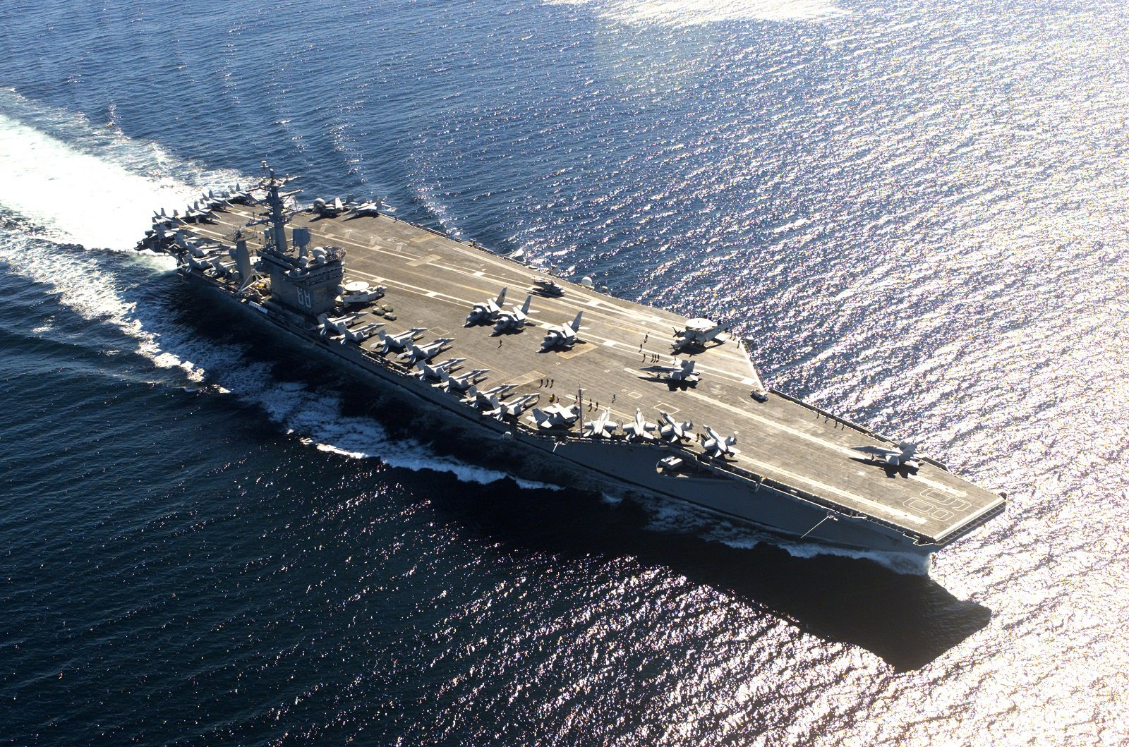 Meet America's Nimitz-Class Aircraft Carrier: The Reason Why the Navy is Unstoppable