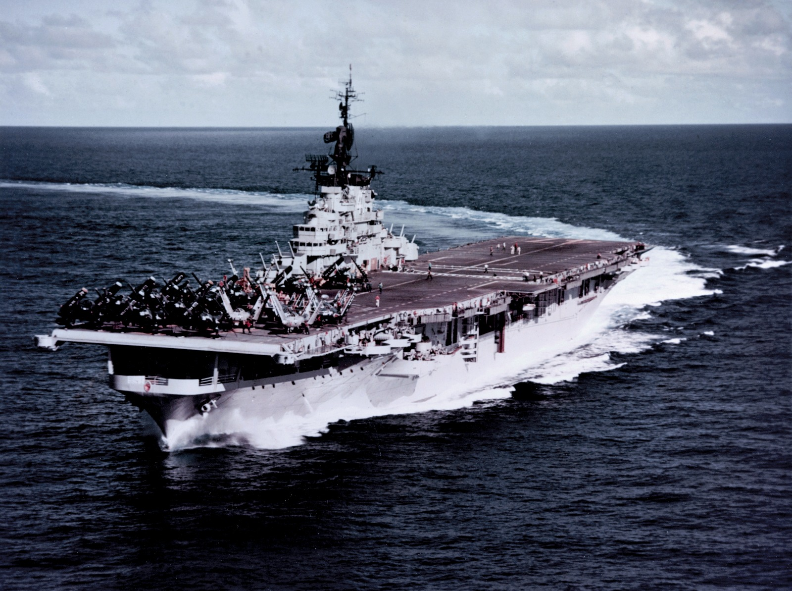 The U.S. Navy Built 24 Of These Aircraft Carriers (They Sailed for